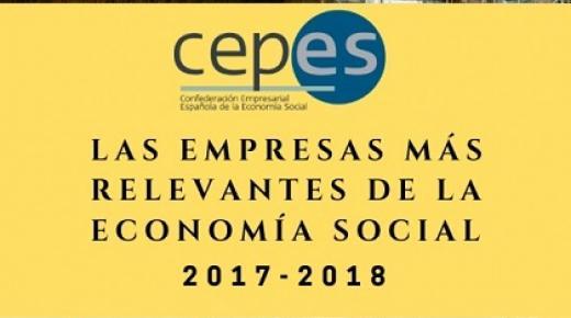 rànquing «Empreses rellevants de l'Economia Social 2018
