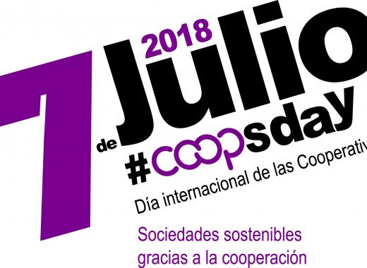 Cartel principal del Día Internacional de las Cooperativas