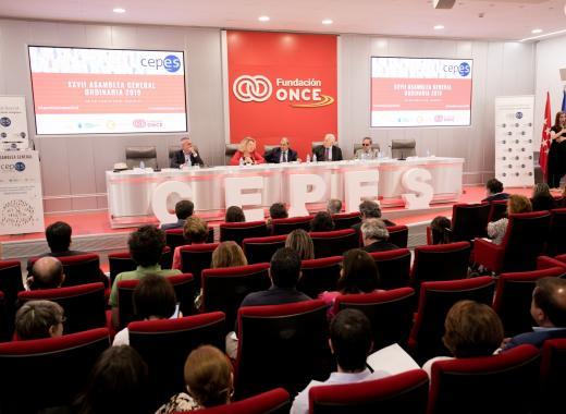 la XXVIII Assemblea General de la Confederació Espanyola d'Empreses de l'Economia Social
