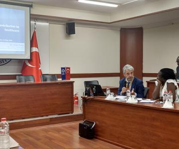 Carlos Zarco, president de l'Organització Internacional de Cooperatives de Salut (IHCO) i director de la Fundació Espriu