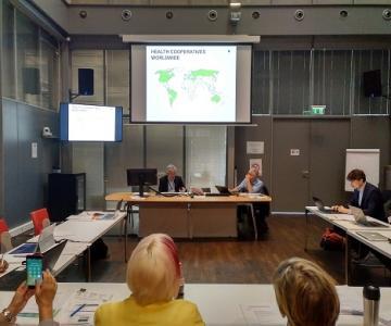 Picture of international meeting in Geneva