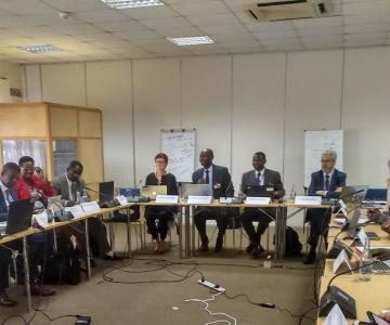 El doctor Carlos Zarco en el encuentro de la ONU celebrado en Nairobi