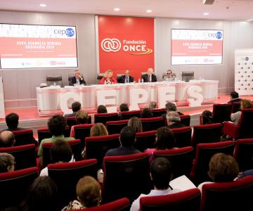 Picture of the 28th Assembly of the Spanish Confederation of Social Economy Enterprises