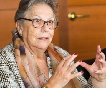 Teresa Basurte, presidenta de la Fundació Espriu
